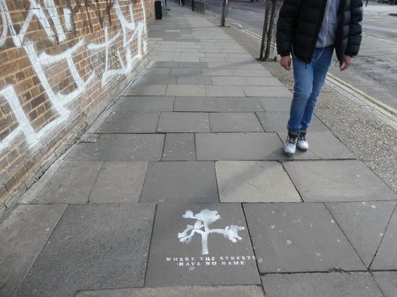 .@U2 #WhereTheStreetsHaveNoName in London https://t.co/aRTMf3Ppgj