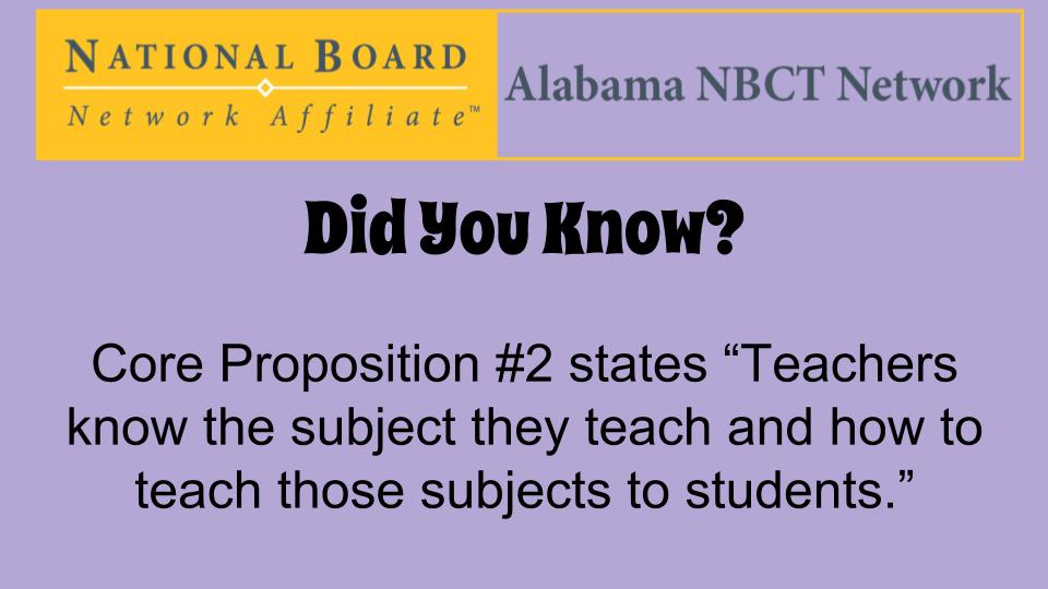 Share pictures/stories of how you implement Core Proposition #2 in your classroom/school. #ALNBCTWeek https://t.co/Y5pYij9gGB