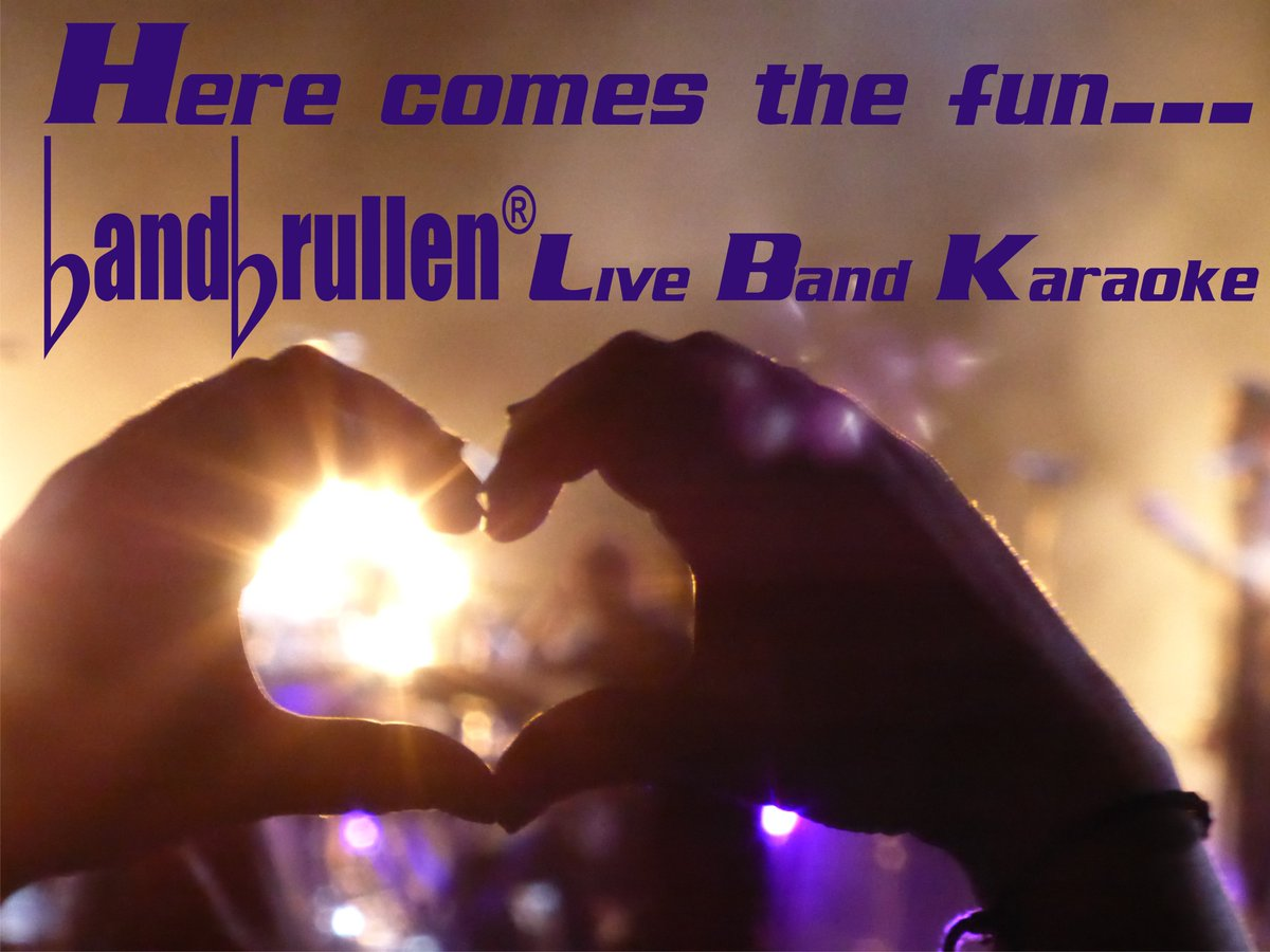 Live band karaoke BandBrullen: Here comes the Fun