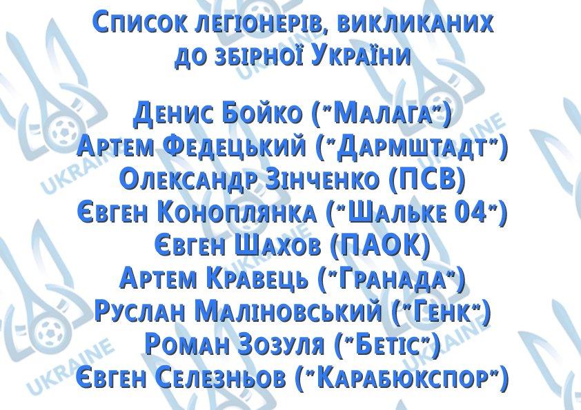 Шевченко вызвал Селезнева и Малиновского в сборную Украины