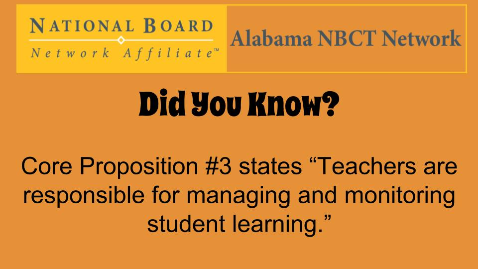 Share stories/pictures of how you implement Core Proposition #3 in your classroom/school! #ALNBCTWeek #ALNBCT https://t.co/wOriKen4YZ