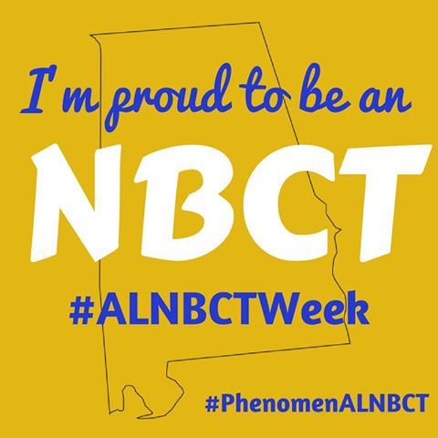 Happy Friday! What makes you proud to be an #ALNBCT? Share your story! #ALNBCTWeek https://t.co/P6zYxbUfVR