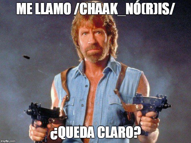 Happy Birthday Chuck Norris!  (Cuidadín con llamarlo /chuk_norrrrris/)