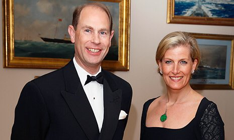 Happy 53rd Birthday to Prince Edward, Earl of Wessex!