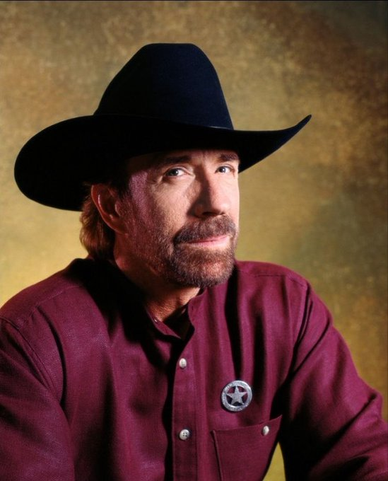 Happy Birthday to me... and Chuck Norris