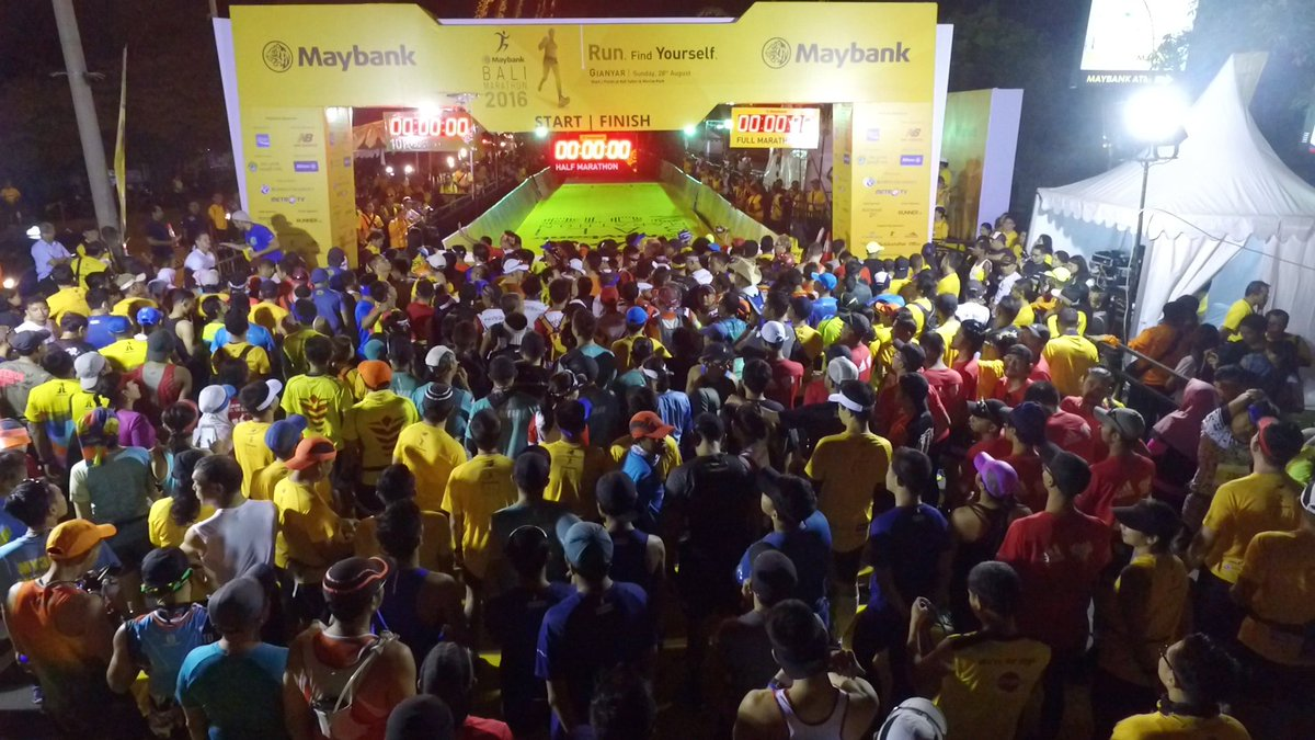 Maybank Bali Marathon 2016