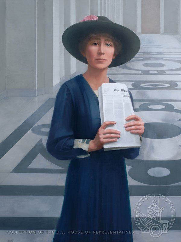 "#TeachingTip: ""I may be the 1st woman member of Congress, but I won't be the last."" Rankin was so right! #Rankin100 https://t.co/IyqL9EqPGS"