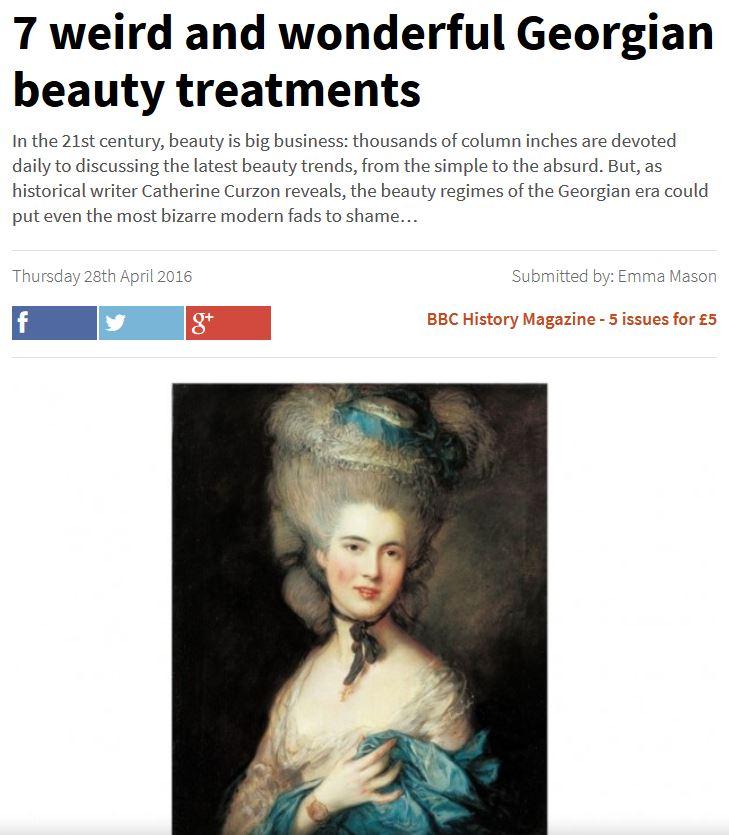 7 Weird and wonderful Georgian beauty treatments https://t.co/2PJuuCzhCV https://t.co/2oVU36u7dL