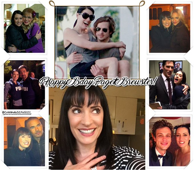 Happy Bday Paget Brewster Have a wonderful day     lots of hugs and kisses