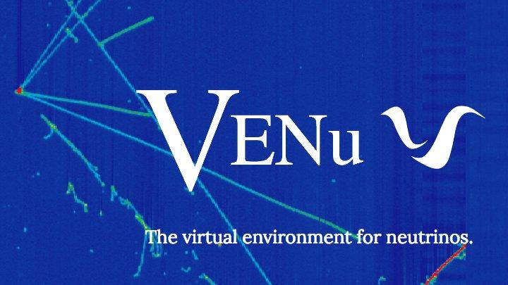 Tracking neutrinos in virtual reality