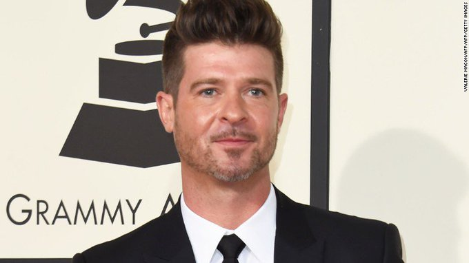 """Happy Birthday Robin Thicke!!, known for the Hit single \""""Lost Without You\"""", from KBBP Radio."""