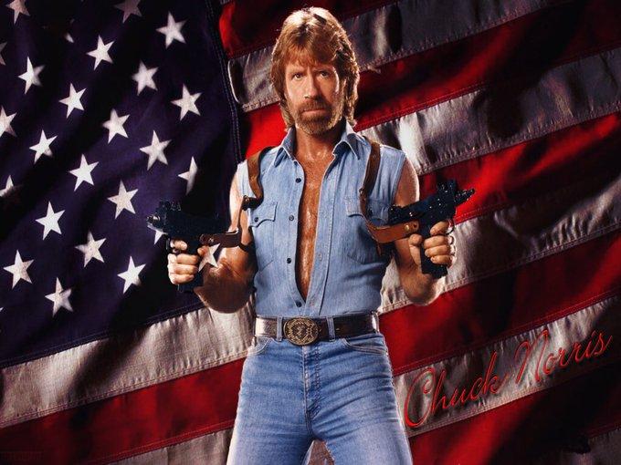 "Happy Birthday \""Thank YOU, Chuck Norris!\"" - Peter La Fleur"