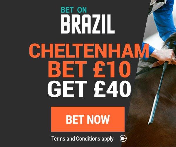 BetOnBrazil Bet £10 Get £40