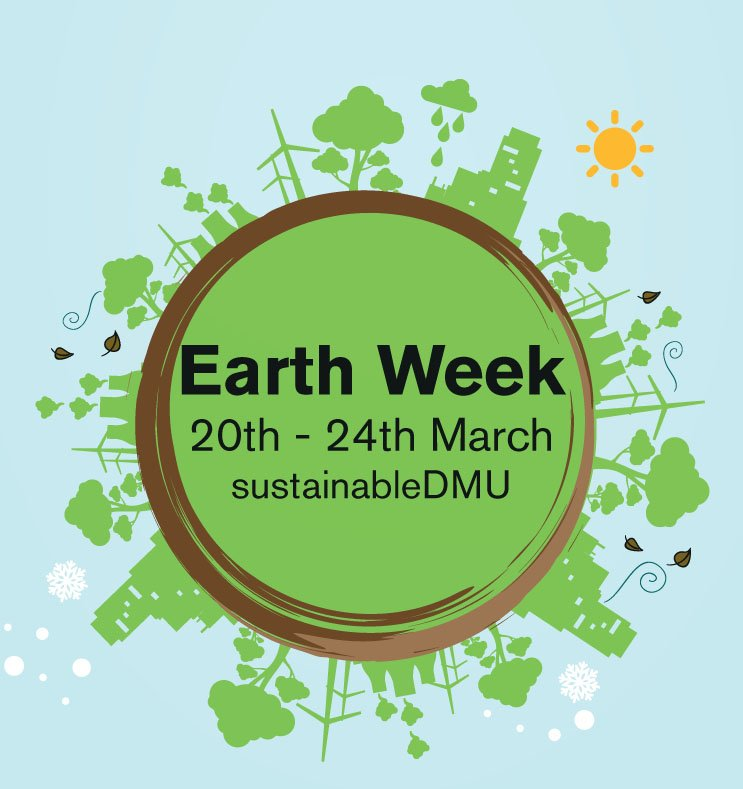 Film shows, clothes swap, exciting speakers, free Dr Bike & more all for #DMUEarthWeek https://t.co/KoMmE9zFQg @dmuhls @DMUTECH @DMUBAL #DMU https://t.co/s8zYCx2Rgd