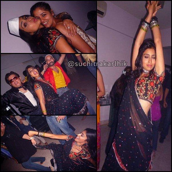 Suchileaks Suchitra On Twitter Actress Shriya Saran Drunk At Party