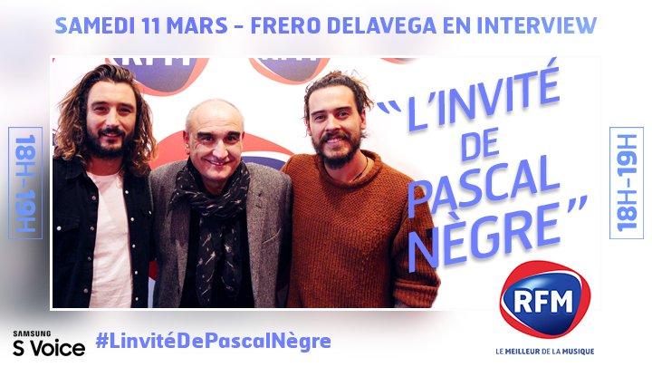 Rdv demain dès 18h sur @RFMFrance dans #LinvitéDePascalNègre !  Bon week-end 😉 https://t.co/b1OtZ3R9rv