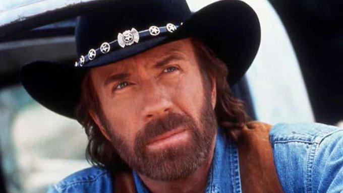 Happy 77th Birthday to Chuck Norris. Chuck Norris has only one regret -- he wasn\t a Raider!