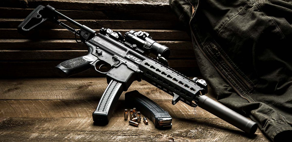 sig sauer on twitter sig mpx sbr with romeo7 red dot srd9