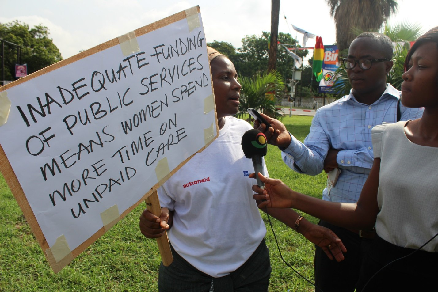 extracted from ActionAid Ghana twitter