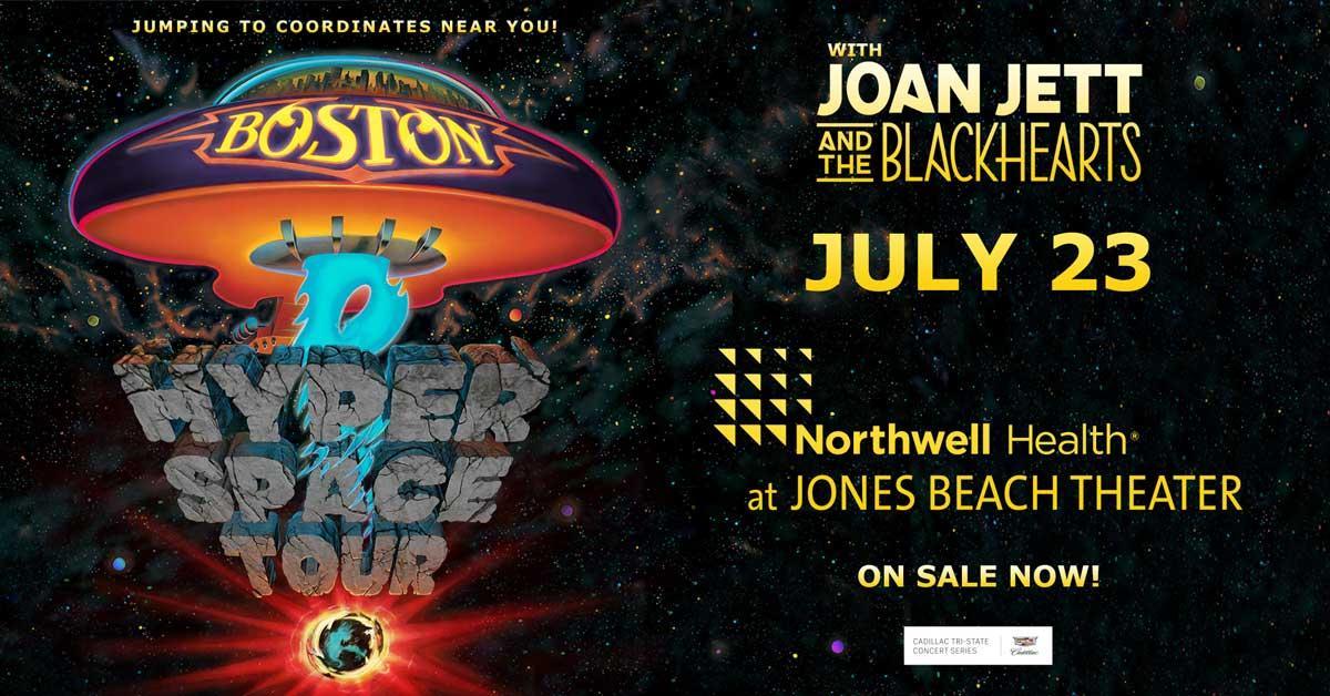 Jones Beach Theater On Twitter Legends Boston Bring Their Hyper E Tour W Joanjett The Blackhearts 7 23
