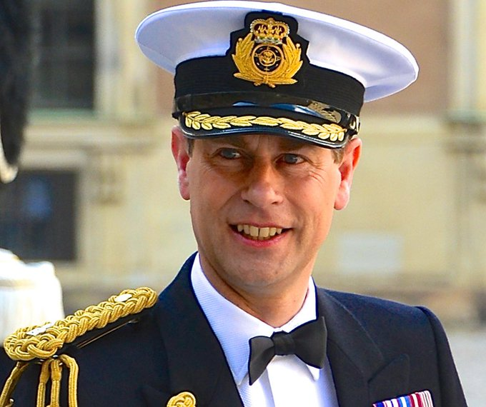 Happy Birthday to Prince Edward! 53 years young today.