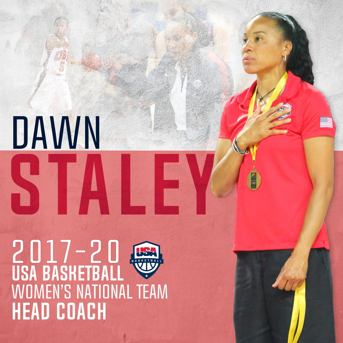 Dawn Staley, 3x Olympic champion