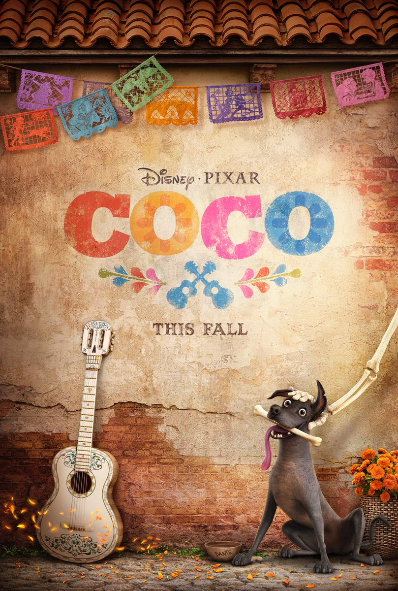 Excited to reveal Coco's new poster! FIRST TRAILER COMING NEXT WEEK! #PixarCoco opens in theaters this November! https://t.co/7gPNYZNvSA