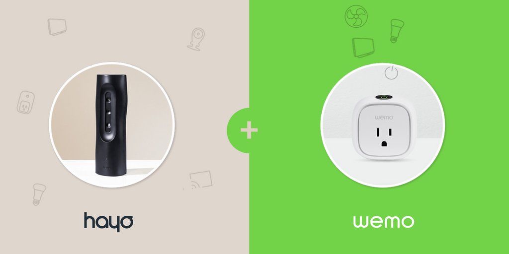 Make your life simple by using @WEMO with @MeetHayo. Control all devices around your home easily!  http:// buff.ly/2mBAe8x  &nbsp;   #SmartHome #Wemo <br>http://pic.twitter.com/r6XdfK15YP