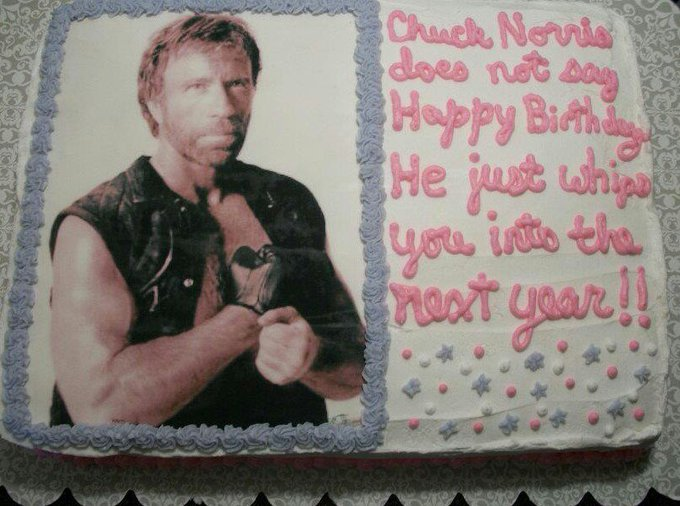 Happy Birthday To Chuck Norris, The Man Who Can Clap With One Hand.