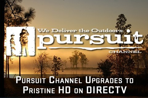 Pursuit channel pursuitchannel twitter for Fishing channel on directv