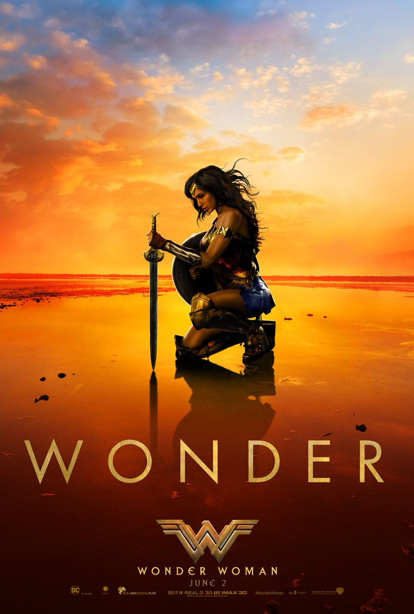 Believe in Wonder ✨ Here it is, the new poster for #WonderWoman! https...