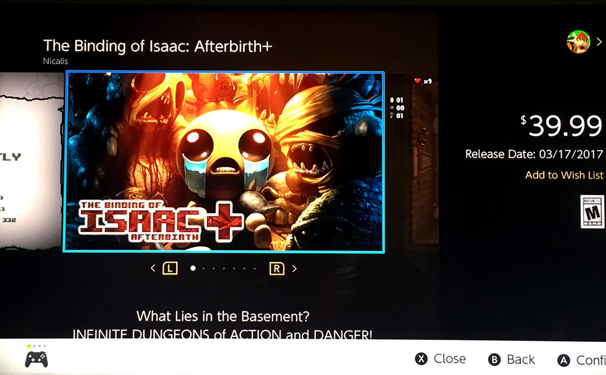 Nicalis Inc On Twitter We Have Some Free Retail Copies And Nintendo Switch The Binding Of Isaac Nintendoswitch Eshop Codes For Facebook Followers Next Week