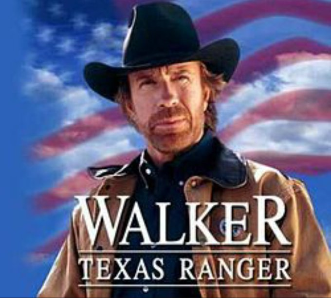 Happy Birthday Walker: Texas Ranger (Chuck Norris)!   77 years young today.