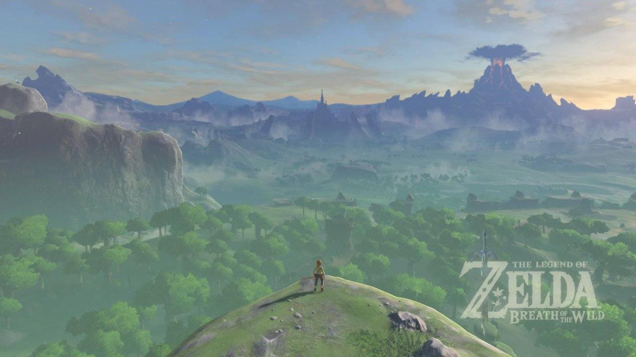 Titelscherm The Legend of Zelda: Breath of the Wild