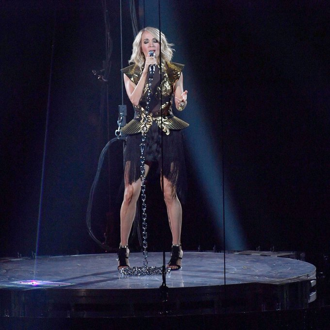 Happy Birthday to the amazing Carrie Underwood! We can\t wait to have you back to