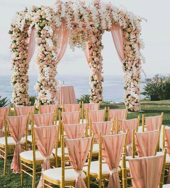 TRENDING 2017 #destinationweddng #rosegold #pink #blush color!  Let's Plan #bride #LuxuryTravel   #StBarth #Caribbean   #tripofalifetime