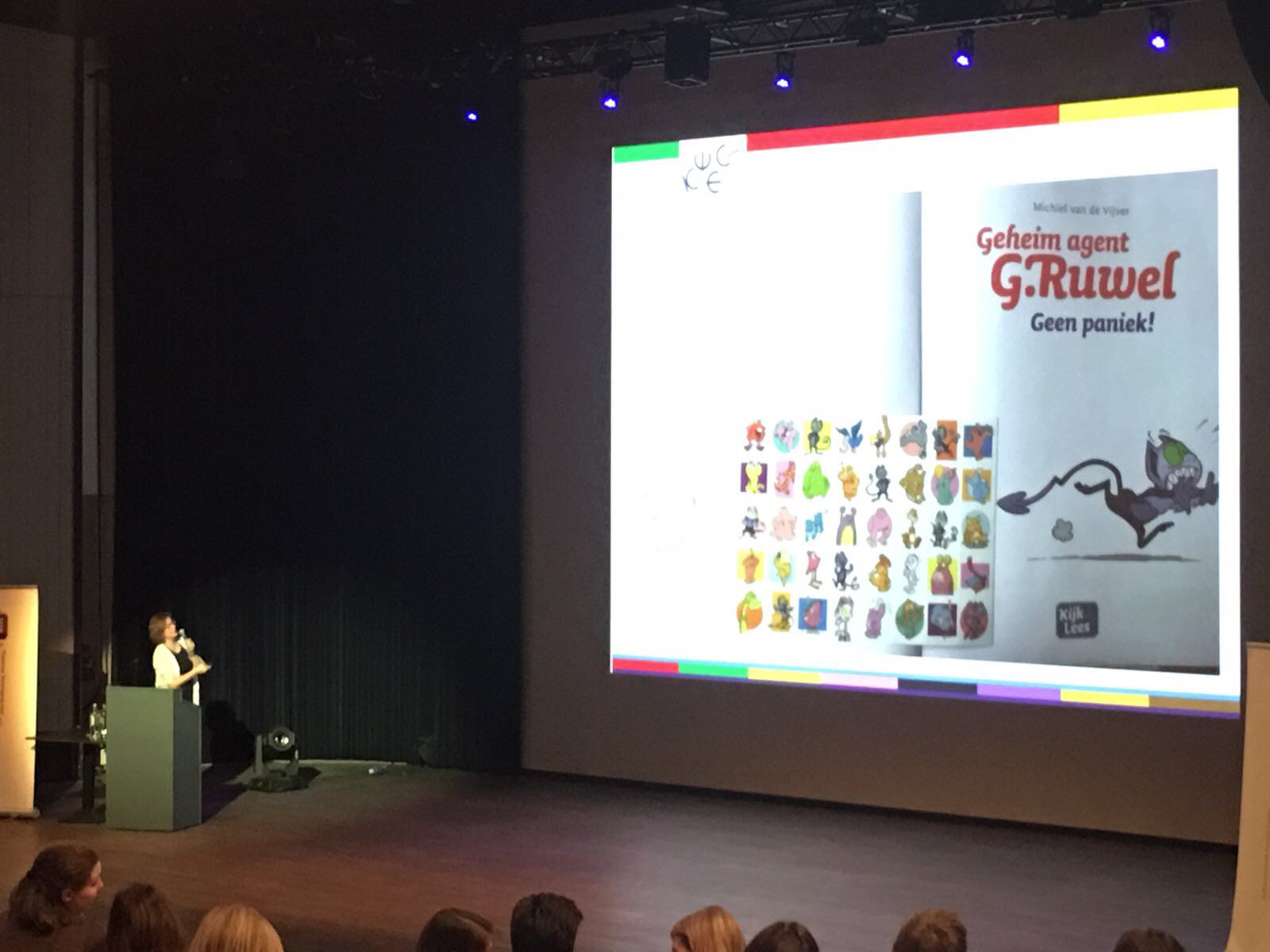 Gruwelijk ;-) leuk om presentatie over 'Leesmotivatie in de praktijk' te houden op VVL-congres in Gent. Vandaag op herhaling bij @edcampNL https://t.co/KA3dQRZsiL