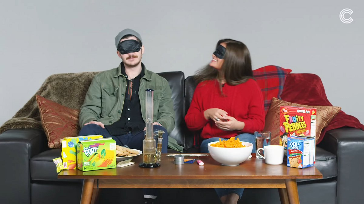 Watch: People Smoke Weed While on a Blind Date – High Times