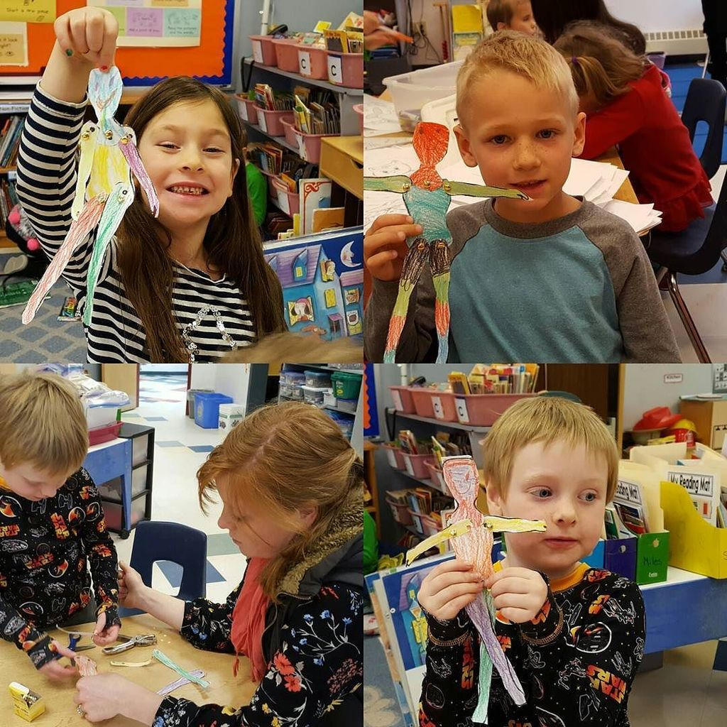 Mrs. Aucter, our Art teacher, helps kindergarten students work on fine motor skills as the… https://t.co/8LAOY0wXYb https://t.co/6lc5S1gShP