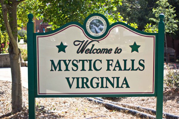 Mystic Falls, our home.