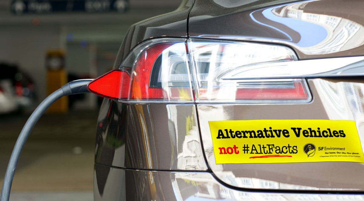 Sf Environment On Twitter Alternative Vehicles Not Altfacts Get The Facts About Ing An Electric Car From Tax Credits To Rebates