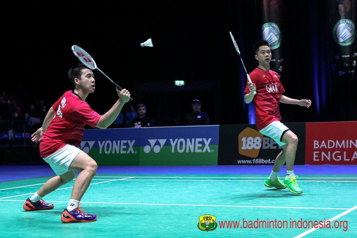 "BADMINTON INDONESIA on Twitter ""Marcus Fernaldi Gideon Kevin"