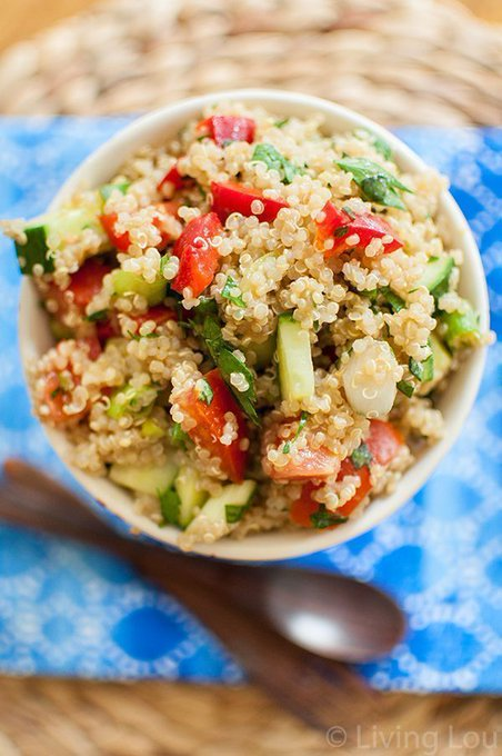 Summer Quinoa Salad — Living Lou