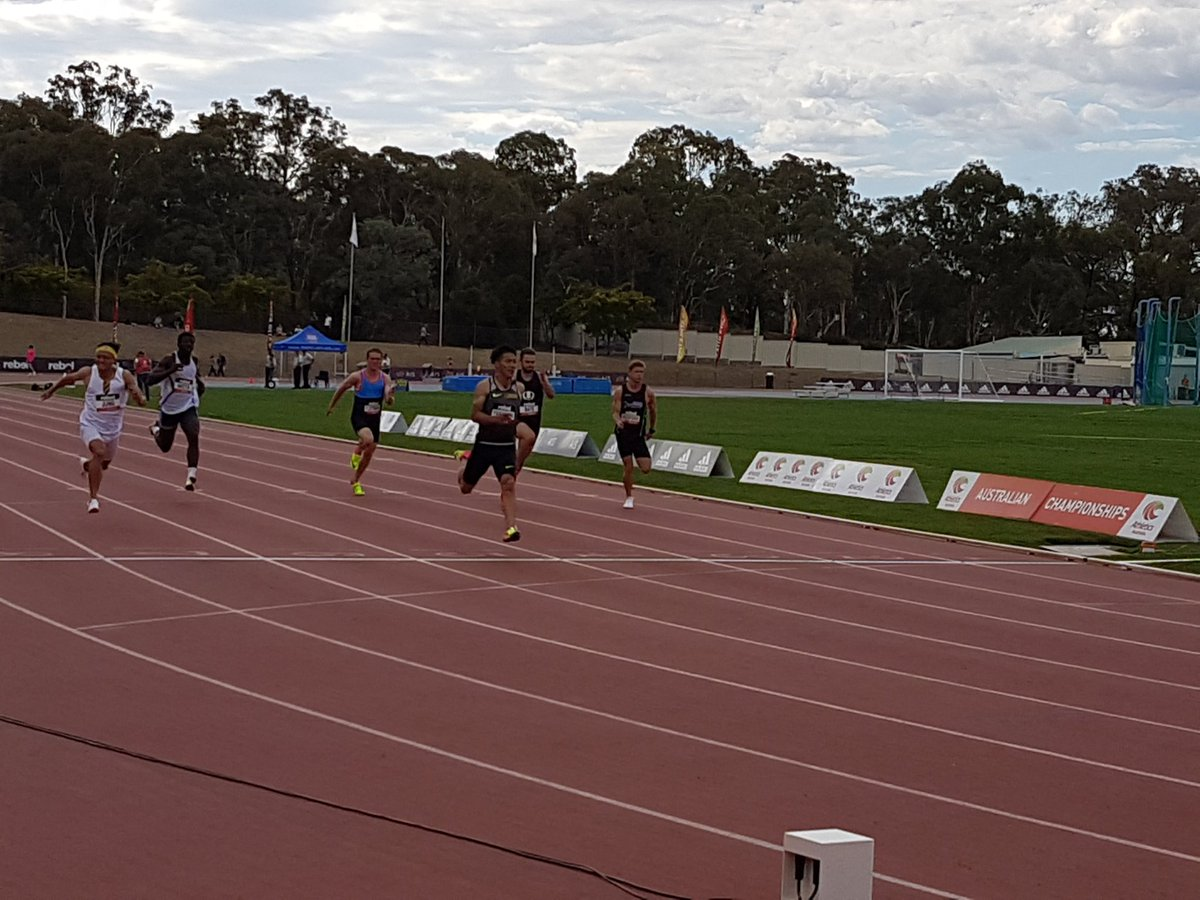 Fastest time ever recorded at Canberra! 10.06 (+1.3) for Japanese athlete Ryota Yamagata @Jaap https://t.co/jgGaZcQcpP