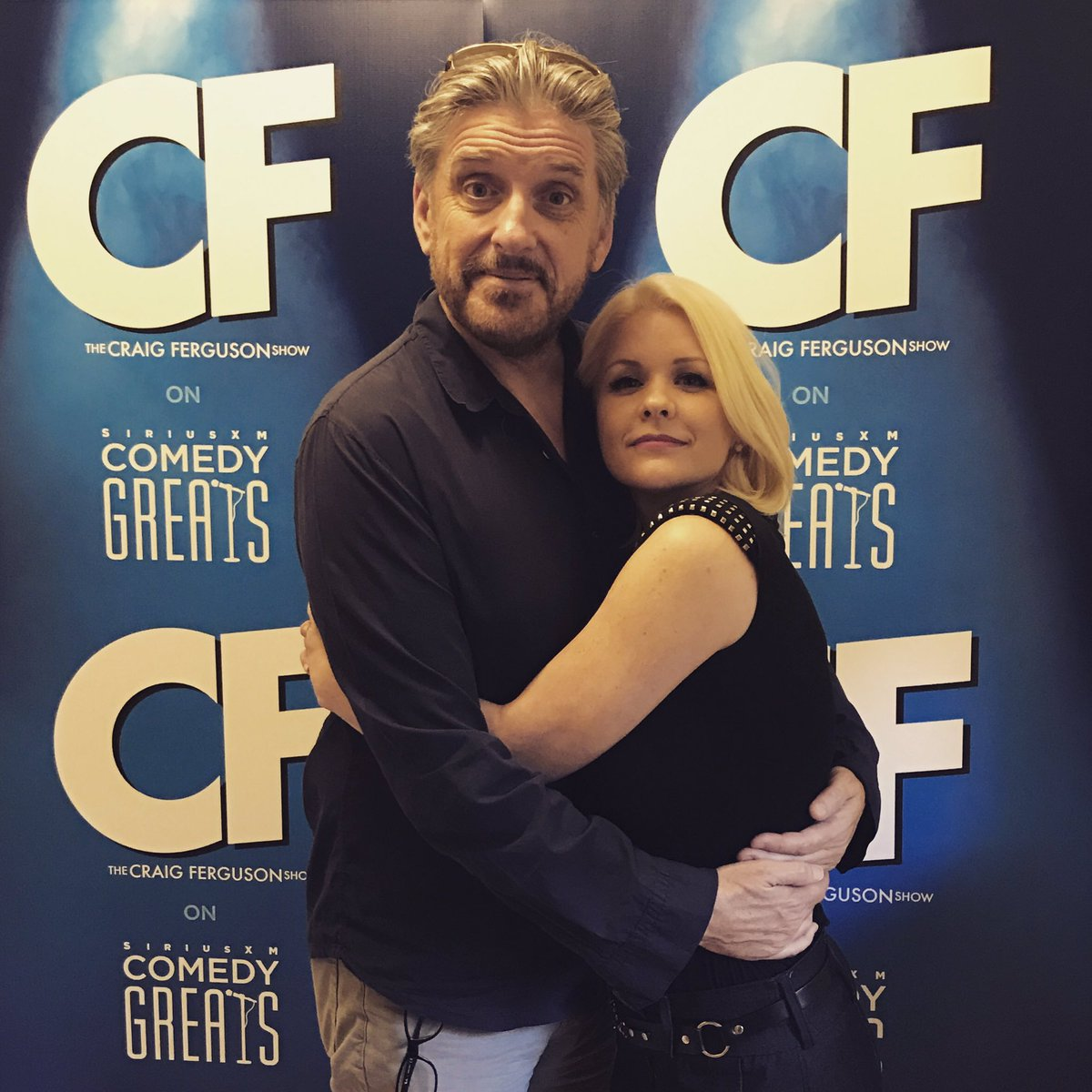 "Craig Ferguson Show on Twitter: ""It was fun to cuss with Carrie Keagan! @CarrieKeagan @SIRIUSXM https://t.co/IZ4GKNdBTv"""
