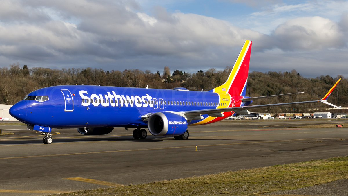 Boeing 737 800 Max: Southwest Airlines 737-800 MAX