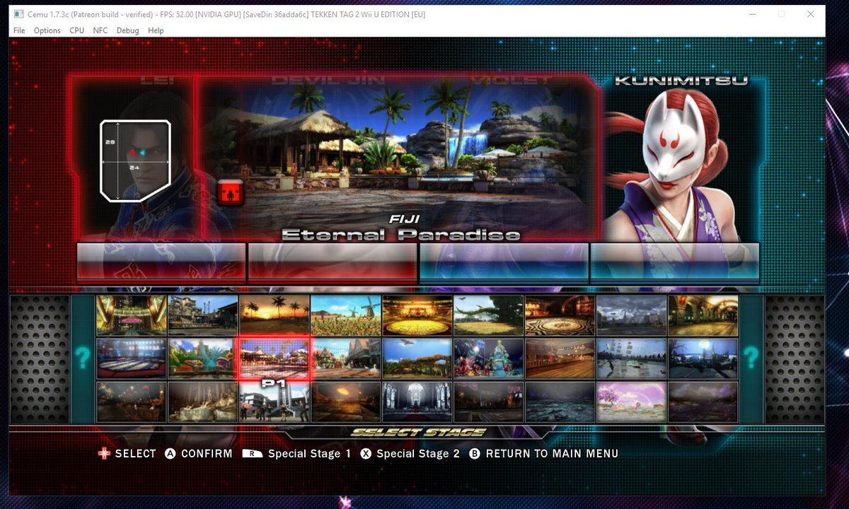 Wonkey On Twitter New Build Of Cemu With Tekken Tag Tournament 2 The Characters Actually Load This Time