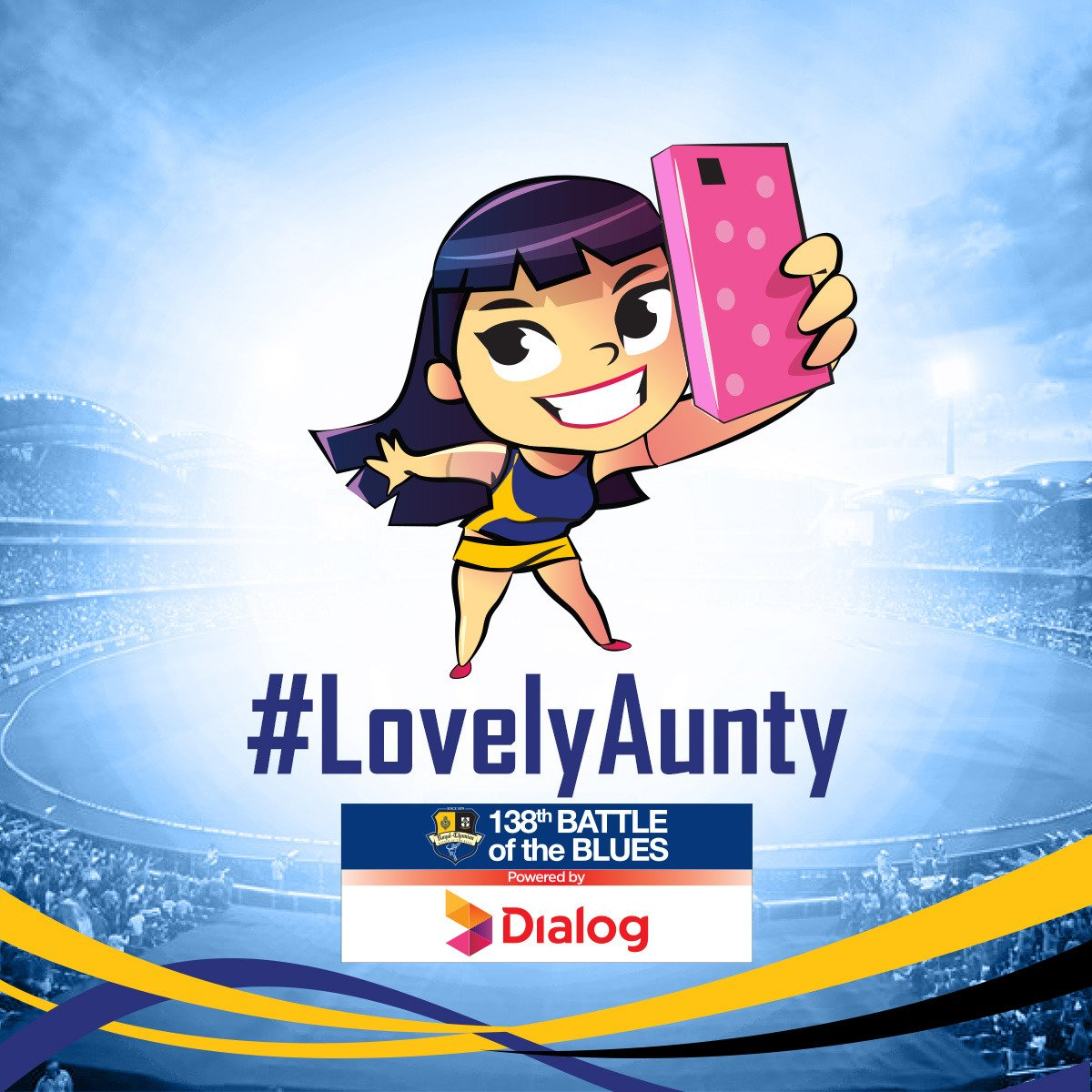 To all the lovely Aunties rocking @ #RoyTho2017! Upload a fun picture of yours with #LovelyAunty & stand a chance to WIN amazing gifts