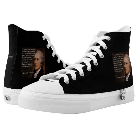 #Hamilton &quot;Enemy Leader&quot; #Quote #Graphic #Sneakers @Zazzle #electoralcollege #shoes #gift <br>http://pic.twitter.com/3NM9HCCuiw  http:// bit.ly/hamilshoe  &nbsp;