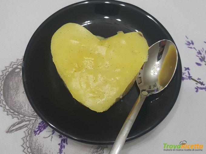 Budino alla vaniglia homemade.